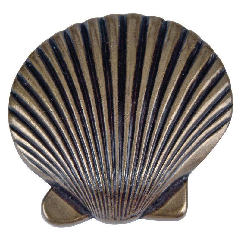 Sea Collection 2 in. Burnished Bronze Cabinet Knob