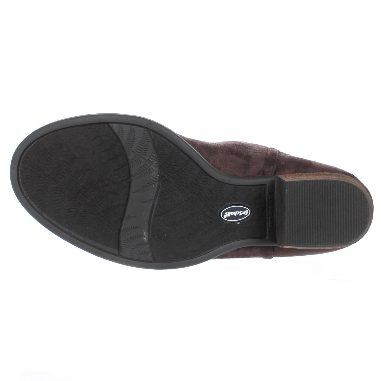Womens Dr. Scholls Jorie Memory Foam Cool Fit Slip On Ankle Boots - Brown