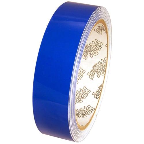 "Tape Planet 3 mil 1"" x 10 yard Roll Medium Blue Outdoor Vinyl Tape"