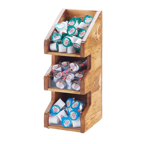Cal-Mil Madera 3 Section Condiment Organizer