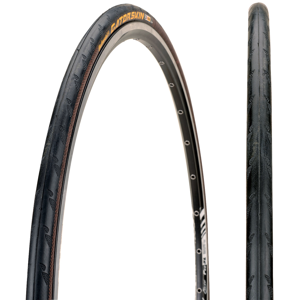 Continental GatorSkin Tire 700x25c Wire Bead Road Tour Urban Puncture Resistant