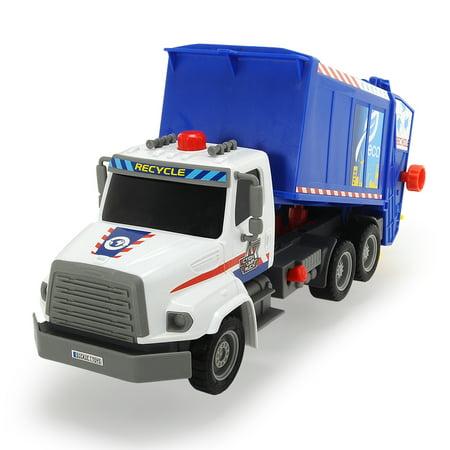 Dickie Toys - 13 Inch Air Pump Garbage Truck Vehicle
