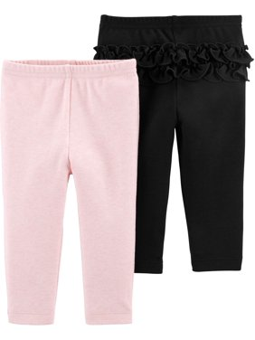Child Of Mine By Carter's Pants, 2pk (Baby Girls)