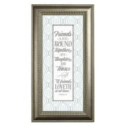 The James Lawrence Company 'Friends Are Bound' Framed Textual Art