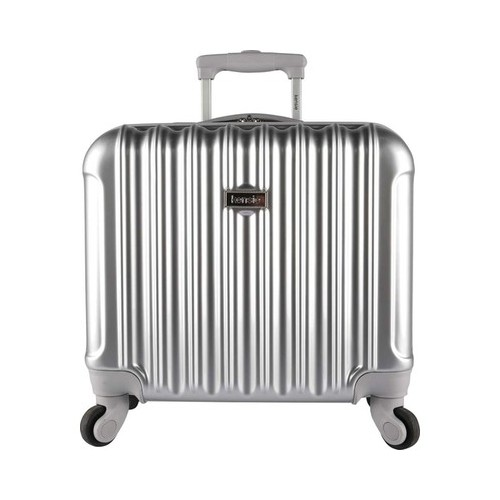 16-inch Metallic Hardside Laptop Spinner Briefcase by Overstock