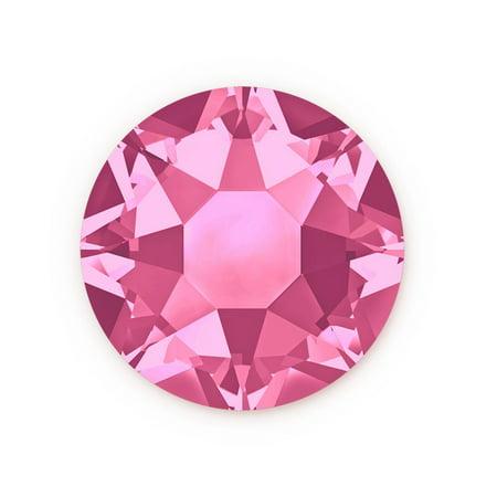 Swarovski Xilion Rose Hot Fix Crystals 2028 7mm Rose (Package of 5)