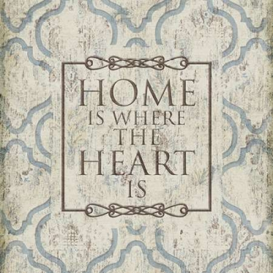 Home Heart Poster Print by  Jace Grey