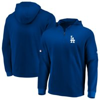 c12373fb Product Image Los Angeles Dodgers Majestic Authentic Collection Batting  Practice Waffle Quarter-Zip Pullover Jacket - Royal