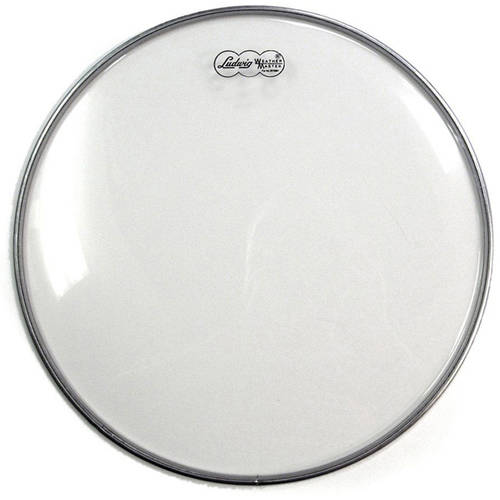 """Ludwig Weather Master 13"""" Clear X-Thin Bottom Snare Side Resonant Drumhead"""