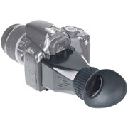 """Universal 3"""" LCD Viewfinder for DSLRs with 3.5x Magnification"""