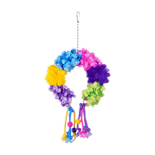 Prevue Hendryx Calypso Creations Colorful Clusters Large Bird Toy