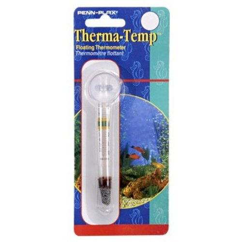 Penn Plax Therma-Temp Floating Thermometer with Suction Cup Floating Thermometer