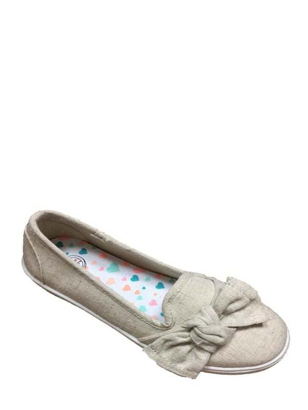 3c49c7497321 Wonder Nation Girls  Casual Bow Flat – Walmart Inventory Checker ...