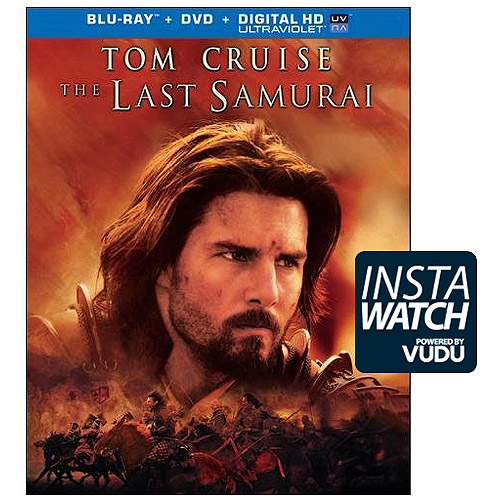 The Last Samurai (Blu-ray   DVD) (With Ultraviolet) (With INSTAWATCH) (Widescreen)