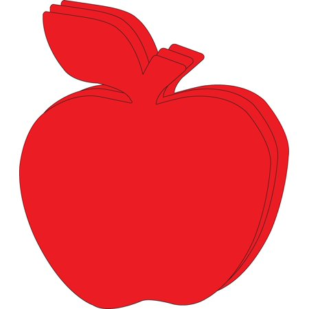 Super Cut-Outs - Single Color Red Apple](Apple Cut Out)