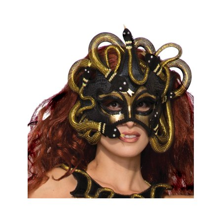 Womens Ancient Greek Monster Medusa Snake Mask Costume Accessory - Womens Monster Costumes