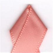Papilion R074300160720100Y .63 in. Single-Face Satin Ribbon 100 Yards - Peach