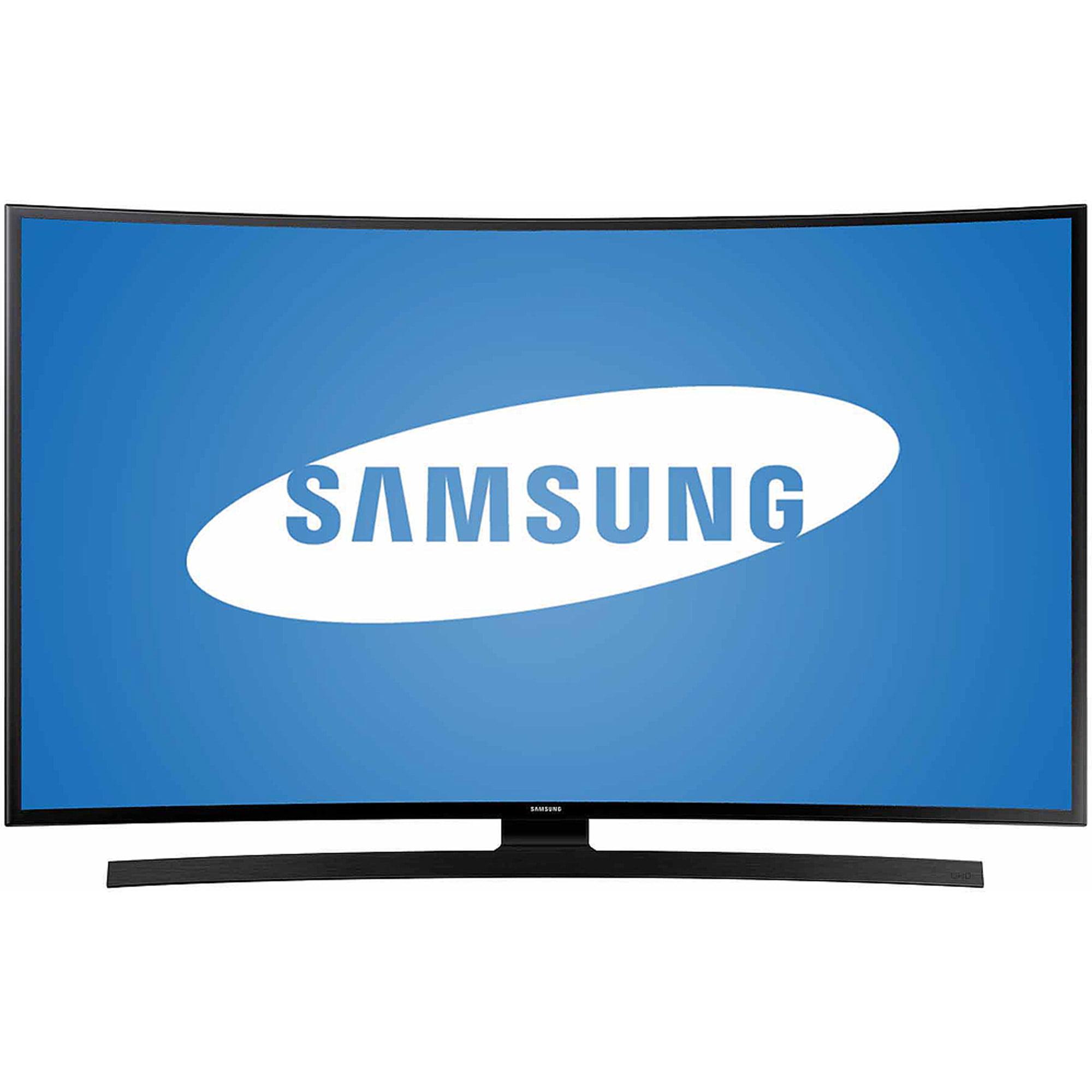 "Samsung UN55JU6700 55"" Curved 4K Ultra HD 2160p 60Hz LED Smart HDTV (4K x 2K) - Qualifies for Premium Delivery"