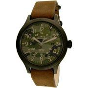 Men's TW4B06600 Green Camo Leather Quartz Sport Watch