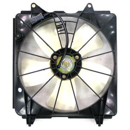 Go-Parts OE Replacement for 2006 - 2011 Honda Civic Engine / Radiator Cooling Fan Assembly - (1.8L L4 Manual Transmission) 19030-RTA-004 HO3117102 Replacement For Honda Civic Engine Assembly Manual