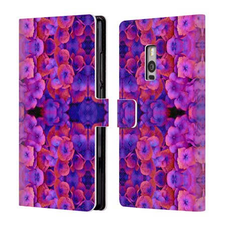 OFFICIAL AMY SIA FLORAL LEATHER BOOK WALLET CASE COVER FOR BLACKBERRY ONEPLUS