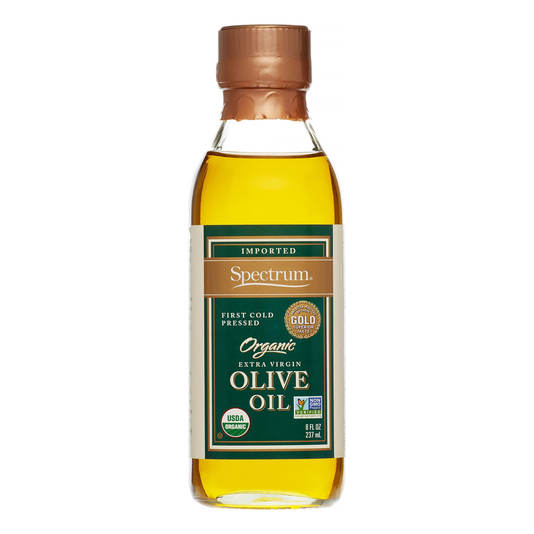 Spectrum Organic Extra Virgin Imported Olive Oil, 8.5 Fl Oz