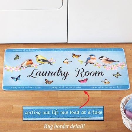 Springtime Laundry Room Decorative