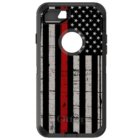 premium selection 4a44e dd6e9 DistinctInk® Custom Black OtterBox Defender Series Case for Apple ...