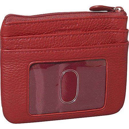 - DOPP By Buxton Women's Roma ID Coin Purse Credit Card Case Wallet