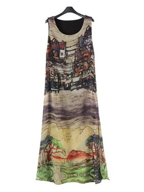 d903976890a Product Image EFINNY Women s Silk Chiffon Beach Long Maxi Vest Dress