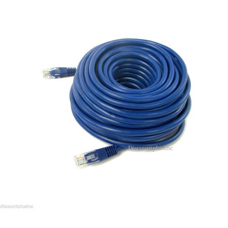 100ft Cat5e Rj45 Ethernet Cable Cord Wire Lan Network