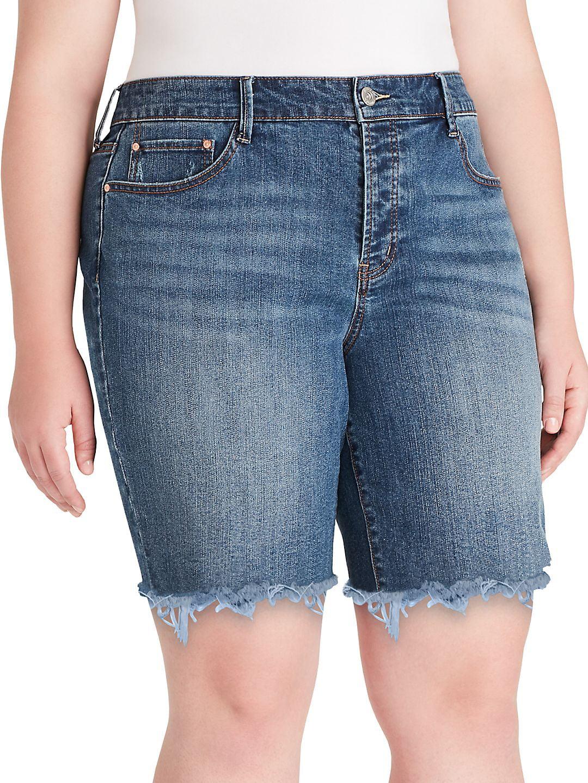 Plus Venice Denim Shorts