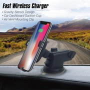 Contixo W1 Wireless Car Charger, Fast Charger Car Mount Air Vent Gravity Phone Holder - image 8 of 8