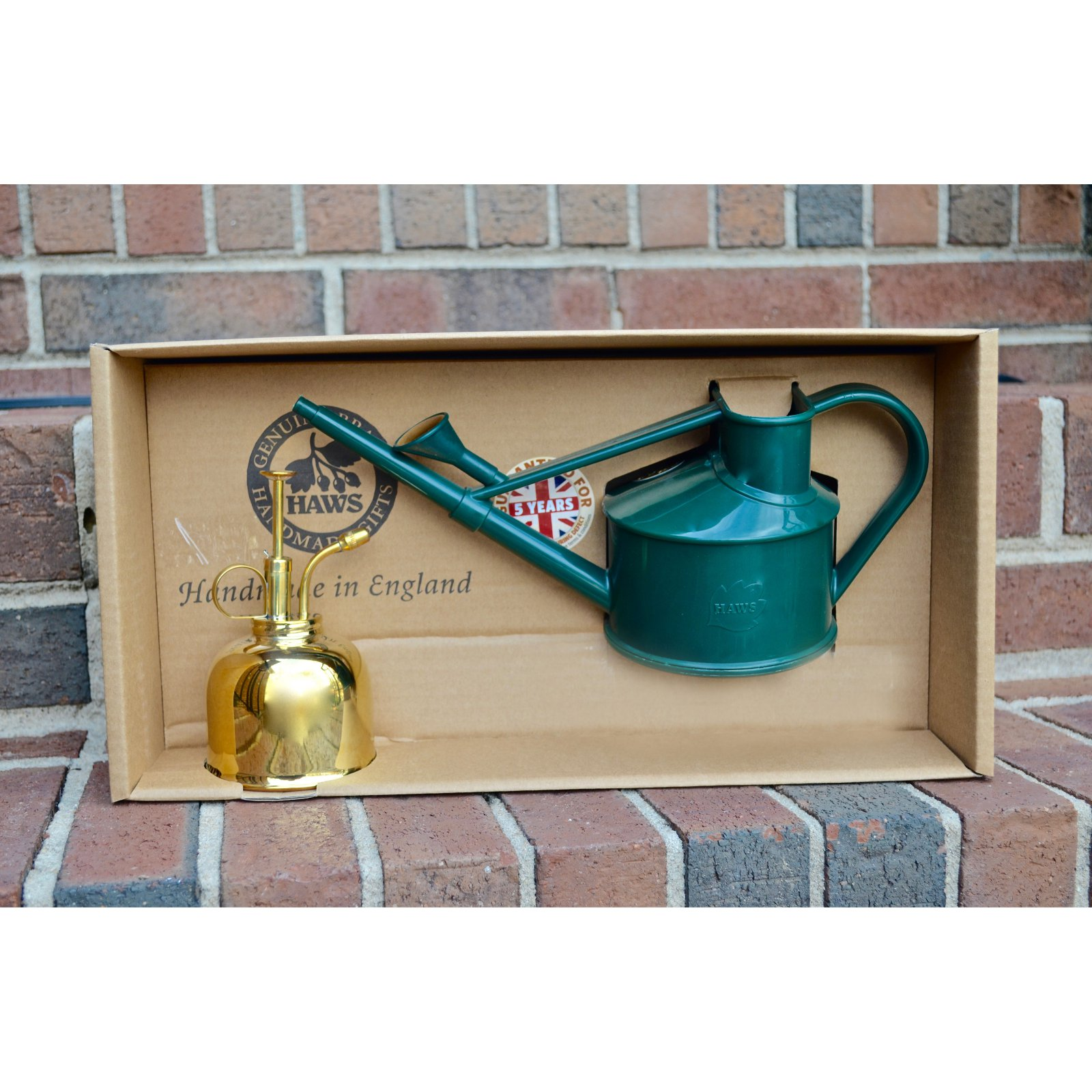 Haws Spray-n-Sprinkle Garden Gift Box Set