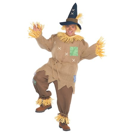 Mr Scarecrow Adult Costume - XXX-Large - Scarecrow Costume For Adults
