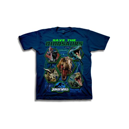 Short Sleeve Jurassic Park Save the Dinosaurs Graphic Tee](Dinosaur Items)