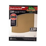 ALI INDUSTRIES 4443 5PK 9x11 220Grit Sandpaper