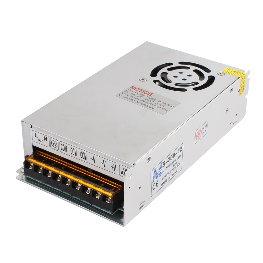 AC 110/220V DC 12V 20A 240W Switch Power Supply Adapter Converter for LED Strip