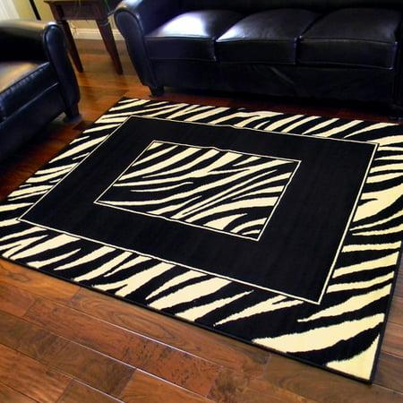 DonnieAnn Company African Adventure Black Zebra Skin