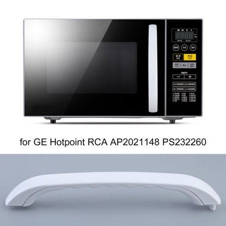 White Microwave Oven Embly Door Handle Replacement Accessories For Ge Hotpoint Rca Ap2021148 Ps232260