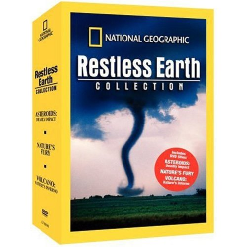 National Geographic: Restless Earth Collection - Asteroids: Deadly Impact / Nature's Fury / Volcano: Nature's Inferno (Full Frame)