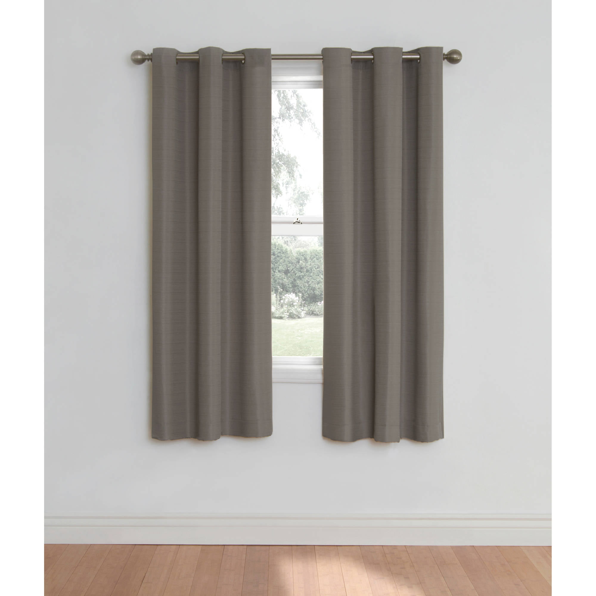 eclipse nottingham thermal energy efficient grommet curtain panel
