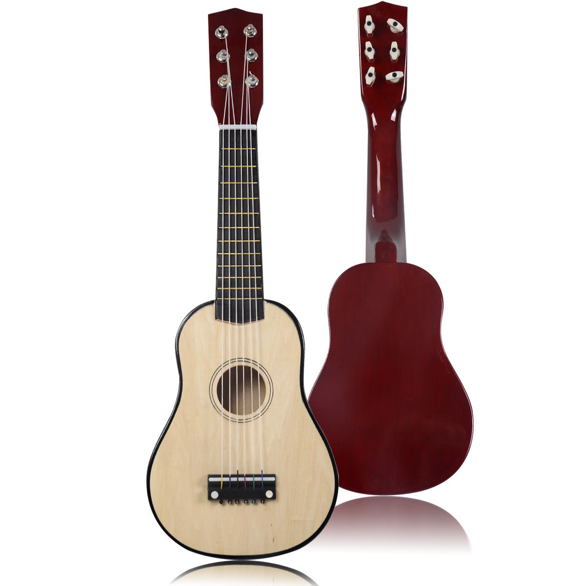 Costway 21''Beginners Kids Acoustic Guitar 6 String with Pick Children Kids Gift
