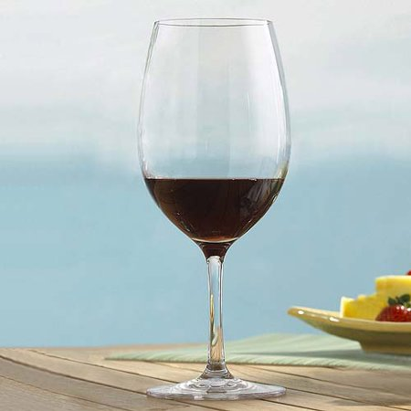 Wine Enthusiast Break-Free PolyCarb Cabernet/Merlot Wine Glasses, Set of (Malbec Wine Spectator)