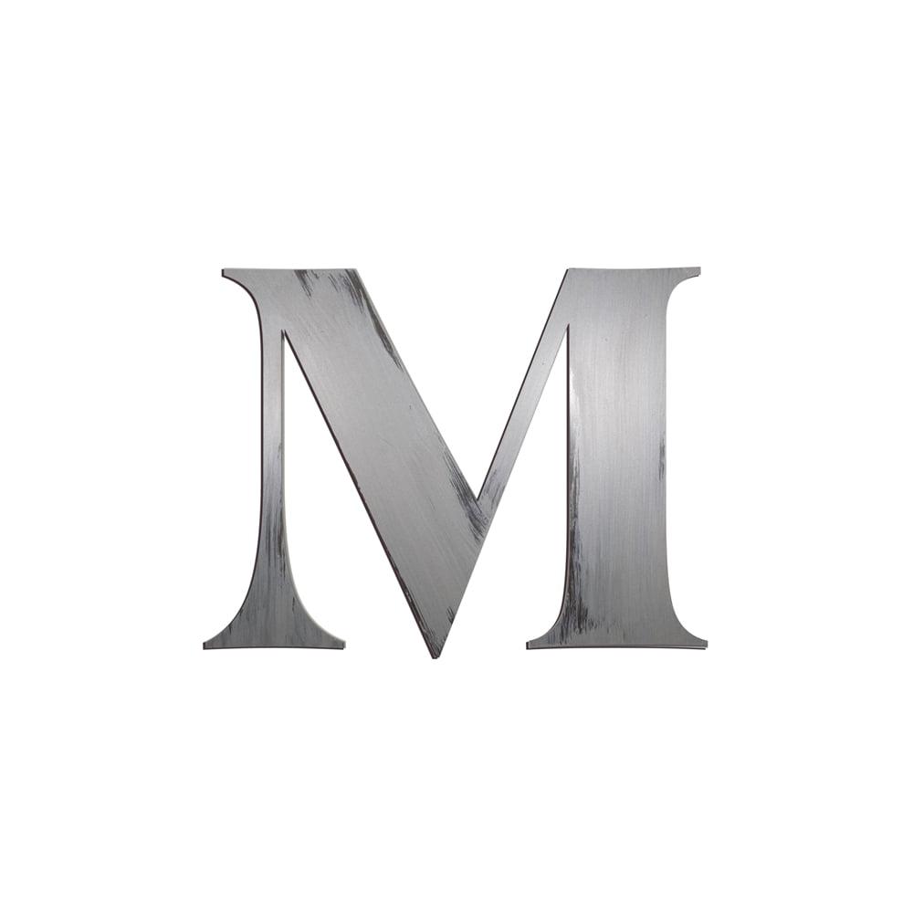 M Block Letter  BarutHotelpuntadiamanteCo