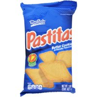 Marinela Pastitas Mexican Butter Cookies, Individual Serving, 12 count