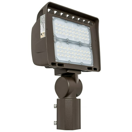 Aluminum Outdoor Housing (Westgate Outdoor LED and Yard Security Floodlight – Aluminum Housing –High Lumen - Waterproof IP65 - 347~480V (100 Watt, 5000K Warm White) )