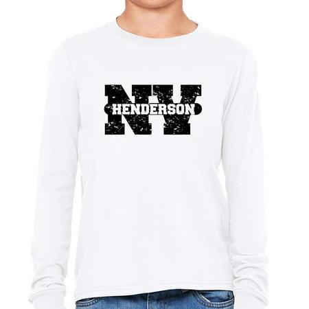 City Of Henderson Nv (Henderson, Nevada NV Classic City State Sign Girl's Long Sleeve)