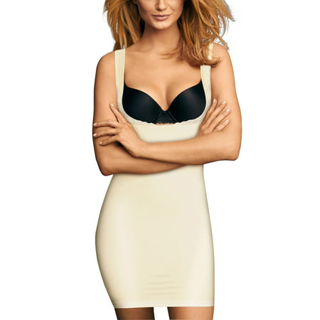 68b29e2a4fa82 Flexees by Maidenform - Firm Wear Your Own Bra Slip Shapewear - Walmart.com