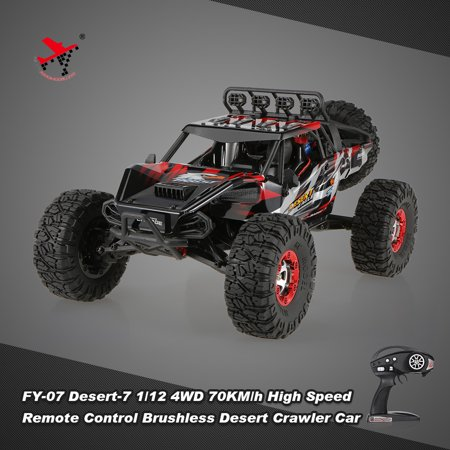 FEIYUE 2.4G 70KM/h High Speed Remote Control Brushless Desert Crawler Car, Red